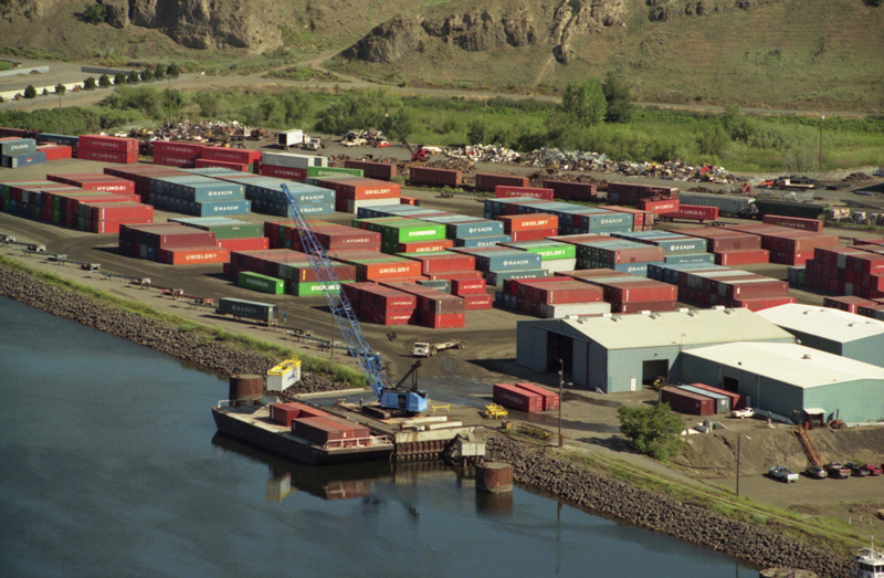 Port of Lewiston loses 100 percent of its container traffic